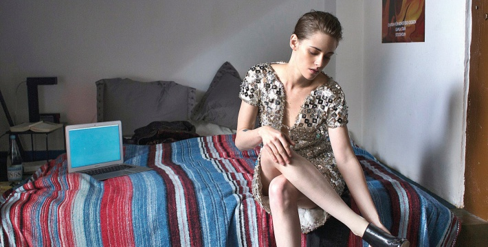 "This image released by IFC Films shows Kristen Stewart in a scene from ""Personal Shopper."" (Carole Bethuel/IFC Films via AP)"